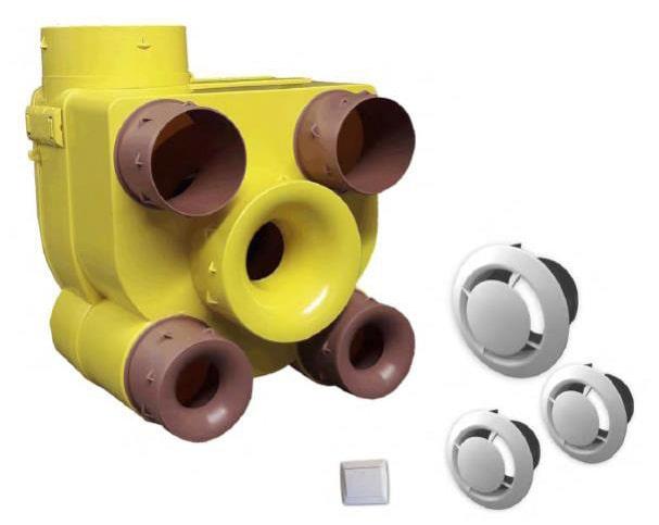 système de ventilation, VMC